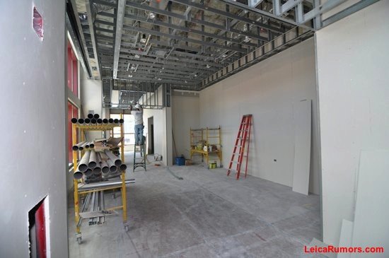 The future location of the Leica Store in Store (SIS)