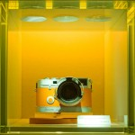 Leica M7 Hermes limited edition spotted in Ginza, Japan (picture by Jonathan Plevy)