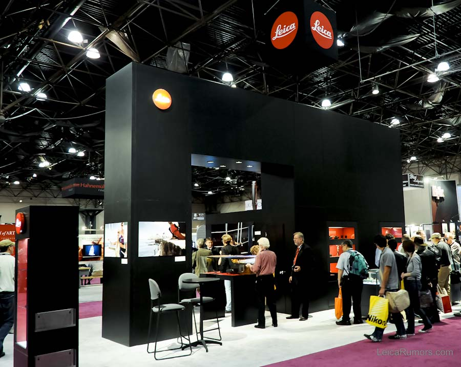 Leica booth at PDN PhotoPlus Expo 2009