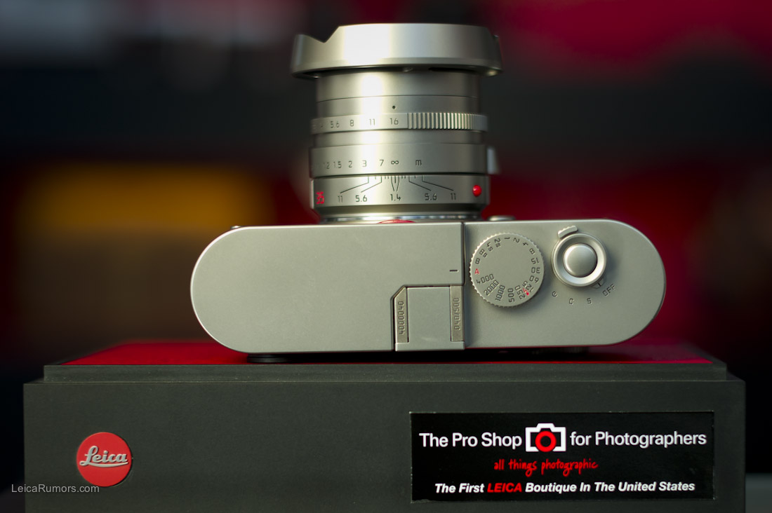 Leica M9 Titanium limited edition now shipping