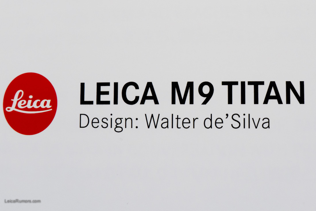 Only 500 pieces were produced and currently the Leica Boutique in Palm Beach