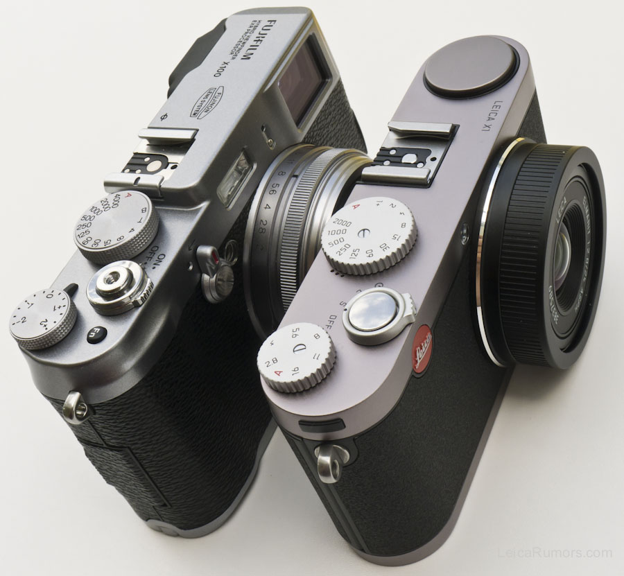 Fuji X100 Vs Leica X1 Comparison Review Leica Rumors