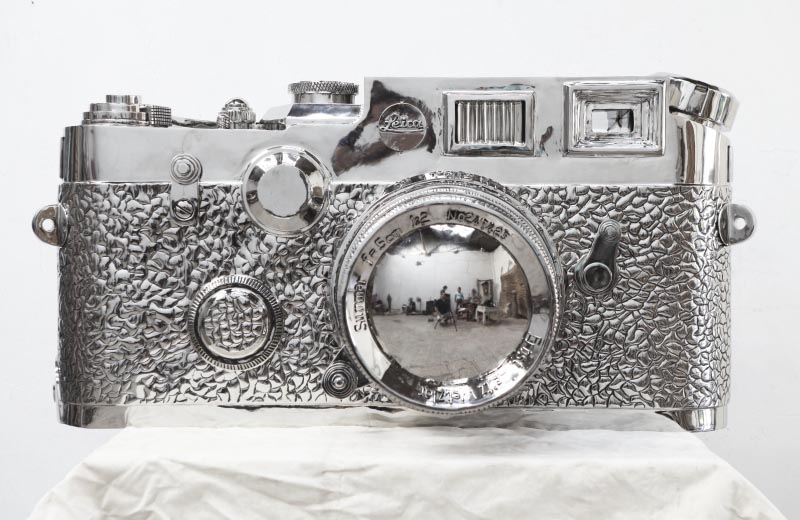 stainless steel Leica2 The story of the 350kg stainless steel Fake Leica