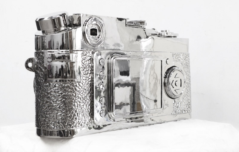 stainless steel Leica4 The story of the 350kg stainless steel Fake Leica