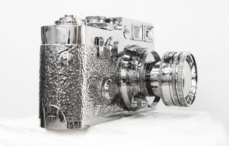 stainless steel Leica7 The story of the 350kg stainless steel Fake Leica