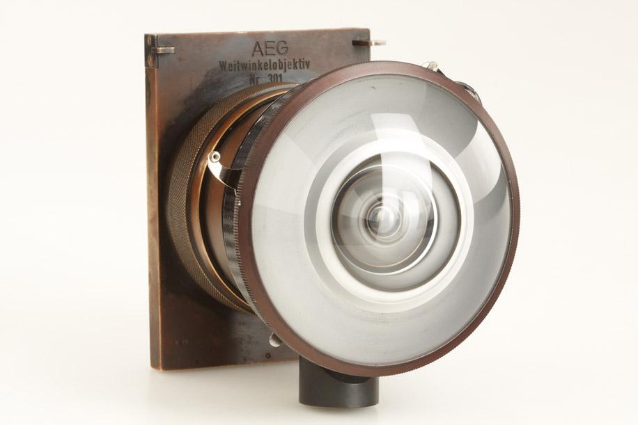 AEG wide angle lens camera