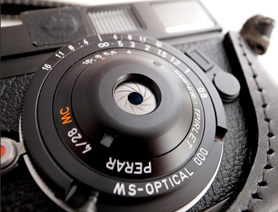 MS-Optical Perar Super Triplet 28mm F/4 Lens