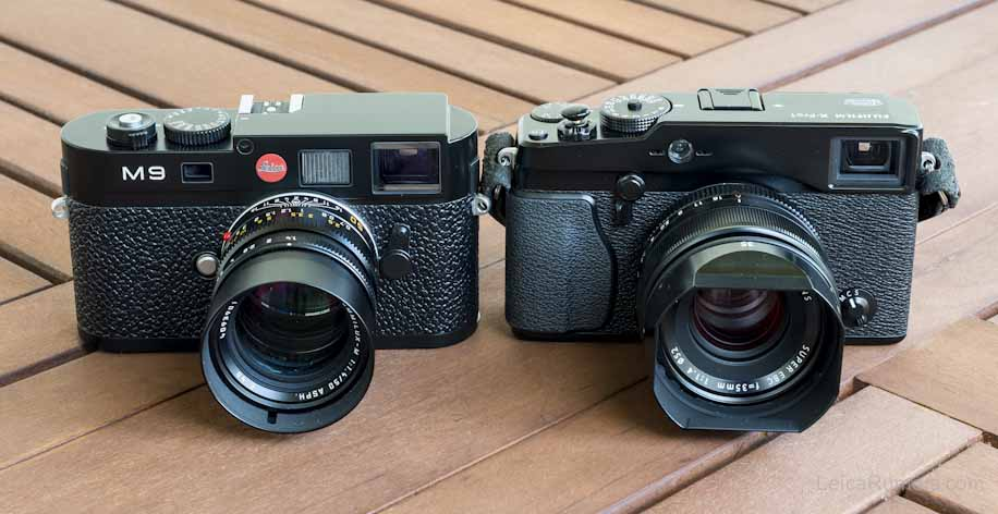 Quick Leica M9 vs. Fuji X-Pro1 image comparison