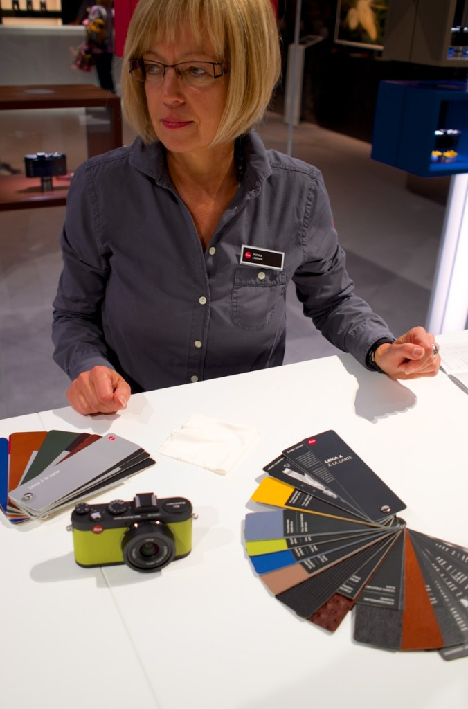 The Leixa X a la carte had many cameras, with the various straps and cases