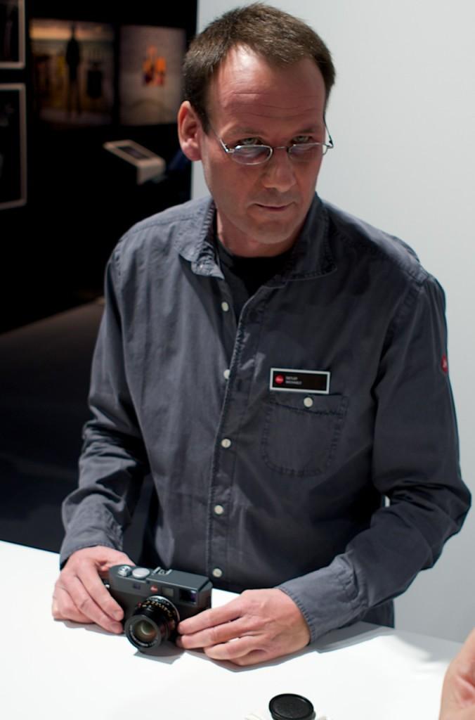 Leica M-E at Photokina 2012