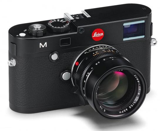 Leica M black The new Leica M