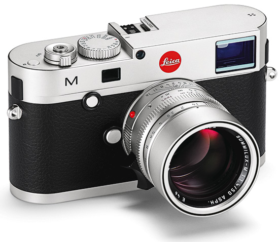 Leica M prata A nova Leica M