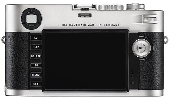 Leica M prata de volta A nova Leica M