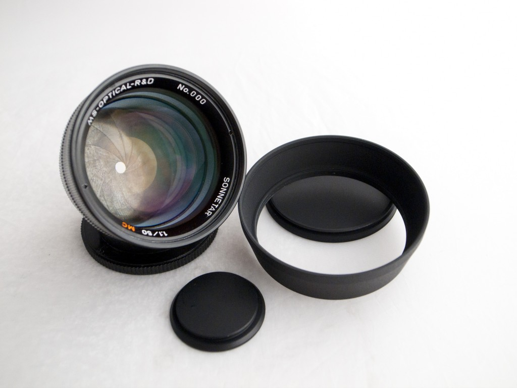 This Is The MS Optical Sonnetar 50mm F/1.1 MC Lens