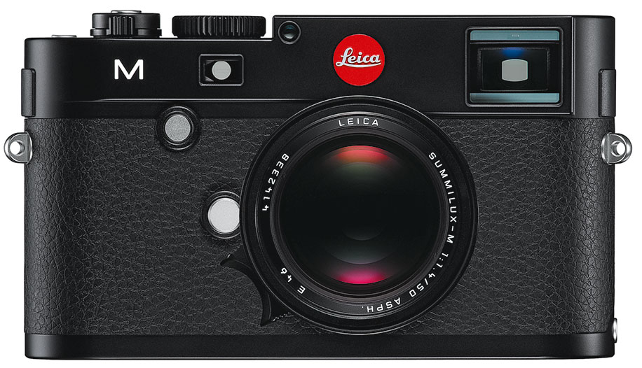 Nikon M black front The new Leica M