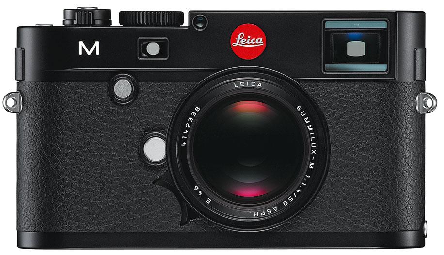 Leica-M-black-front