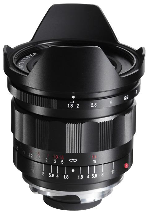 Voigtlaender 21mm f1.8 Ultron lens