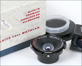 Lot 544: 15mm Hologon f8 with viewfinder