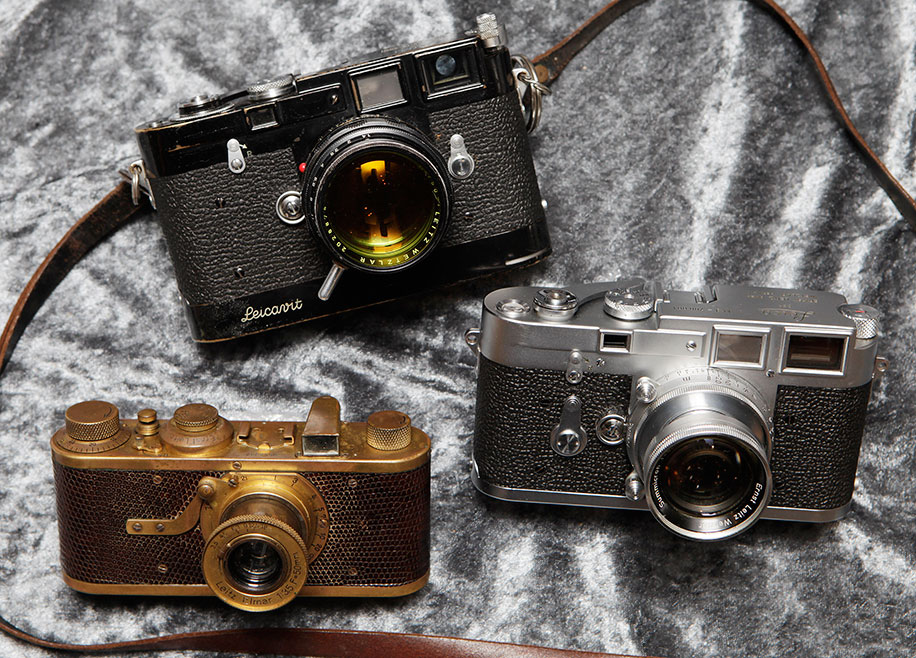 The three most expensive Leica cameras