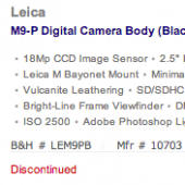 Leica-M9-P-discontinued