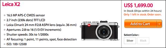 Leica-X2-discount