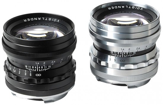 Voigtlander-Nokton 50mm f1.5 Asph lens for M-mount