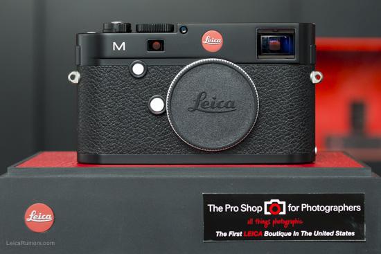 Leica M Type 240 digital rangefinder front