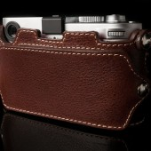 Angelo Pelle leather half-case for Leica M (type 240)