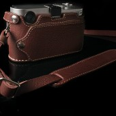 Angelo Pelle leather half-case f