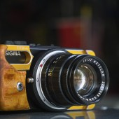 Modified Sigma DP camera with Leica M mount 1
