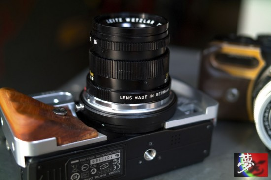 Modified Sigma DP camera with Leica M mount 7