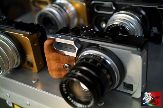 Modified Sigma DP camera with Leica M mount 8