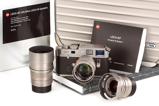 Leica-M7-Titan-50-Years-triple-lens-kit