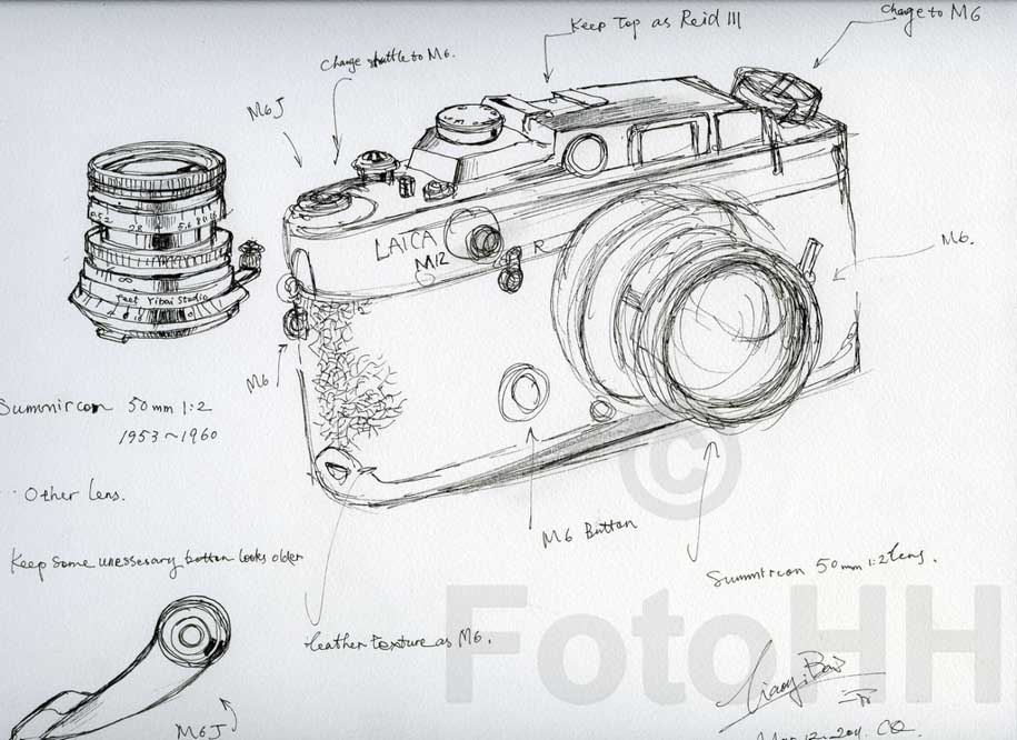 Fake Leica camera sculpture by Liao Yibai listed for sale 17