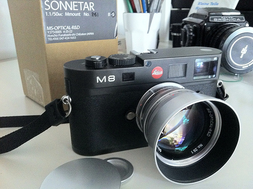 MS Optical 50:1.13 Sonnetar lens