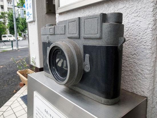 Stone-Leica-M3-sculpture