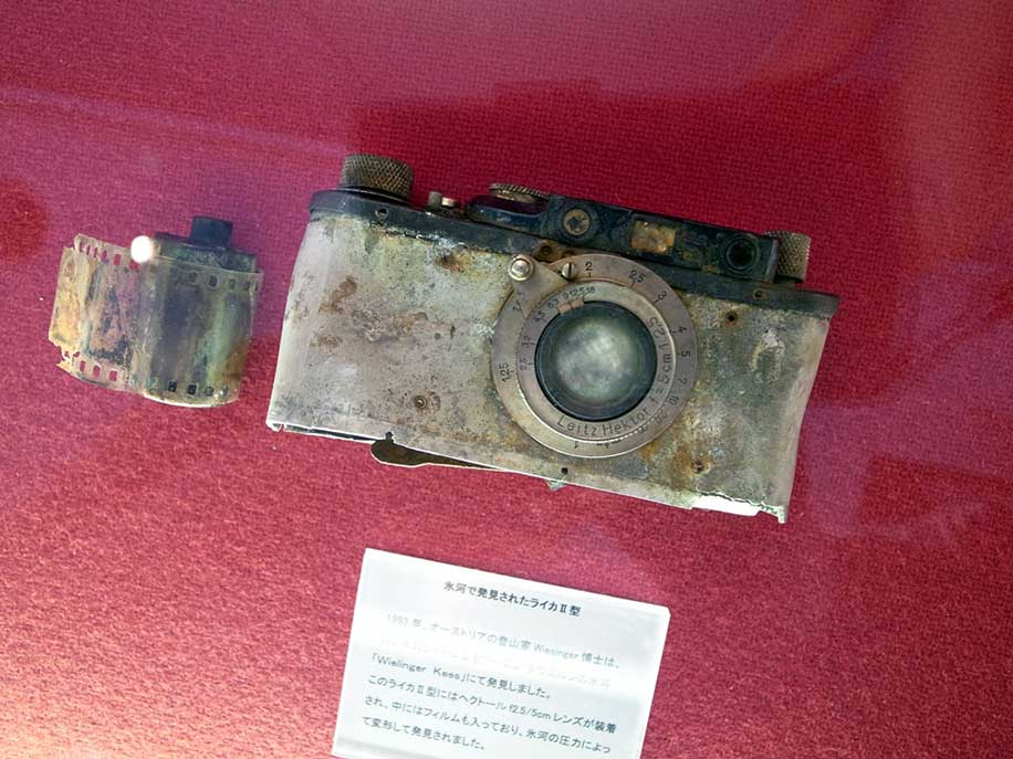1932-Leica-II-which-in-1993-was-found-in-a-glacier-in-the-Austrian-Alps