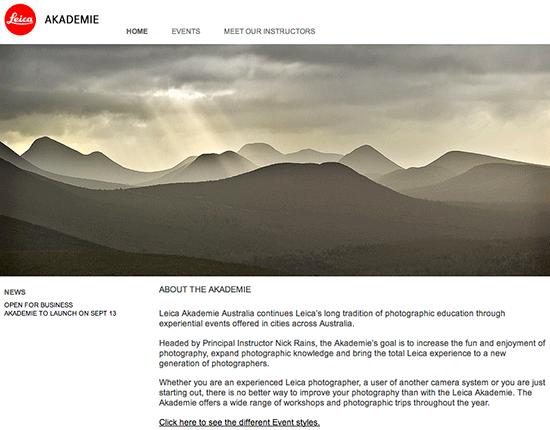 Leica-Akademie-Australia