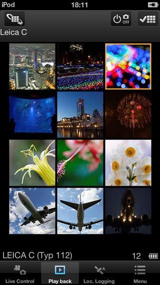 Leica C Image Shuttle app 3