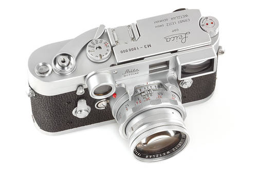 Leica M3 Chrome No. 1.000.000