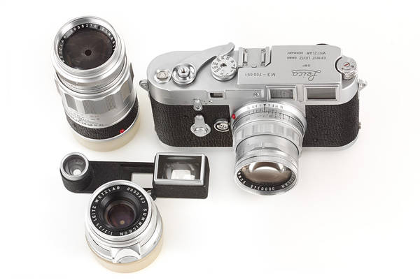 Leica M3 chrome Double Stroke 'Leica-Technik' outfit