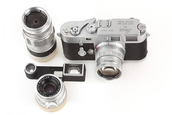 Leica M3 chrome Double Stroke 'Leica-Technik' outfit