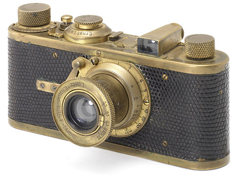 Gold-plated-Leica-camera
