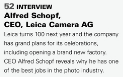 Interview with Leica CEO Alfred Schopf