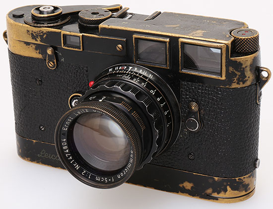 Leica-MP-Black-Paint,-Serial-no.132,-1956