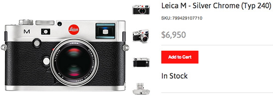 Silver-Leica-M-240-camera-now-in-stock