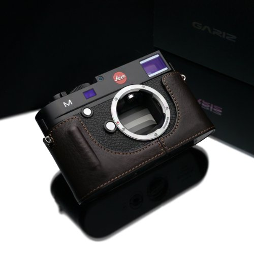 Gariz leather BL-LCMBR Leica M half case