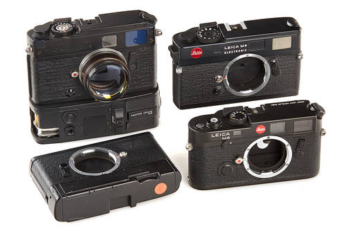 Leica M6 Electronic Prototypes + Design Models