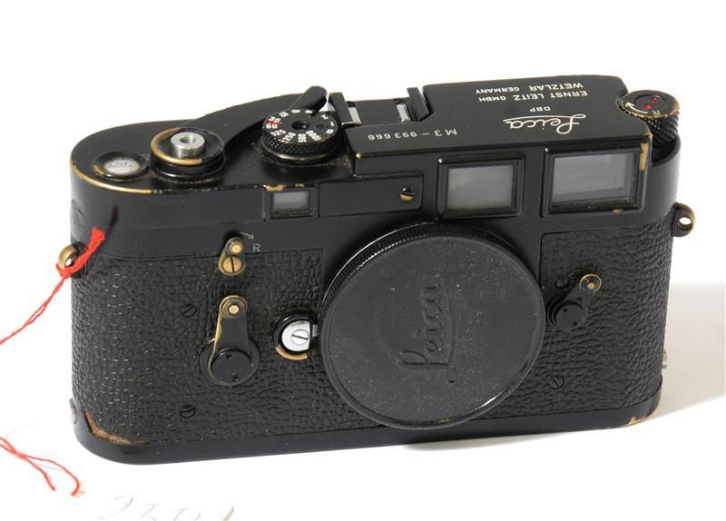 Leica M3 Black Paint camera