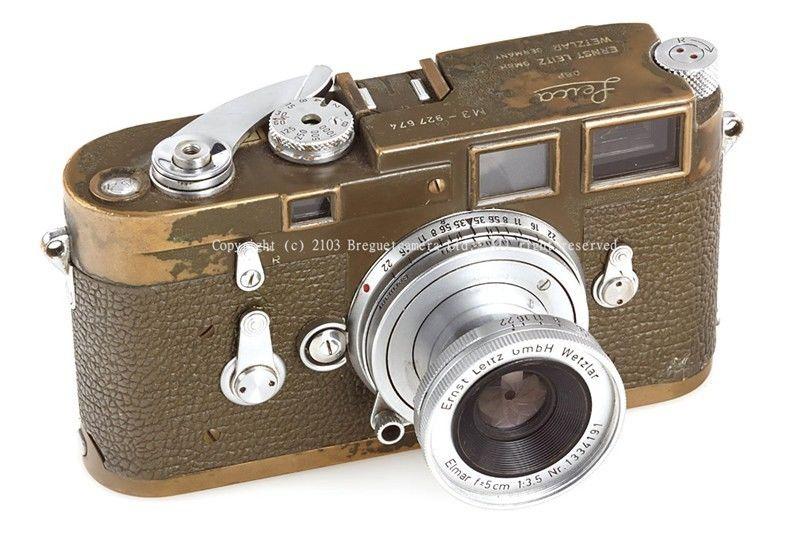 Leica M3 olive Bundeseigentum military camera
